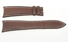 Audemars Piquet, 100% original brown leather band 23mm, 18mm buckle CURVED ENDS
