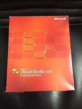 Microsoft Visual Studio 2005 Professional de avec TVA-facture du revendeur