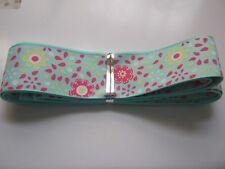 JACQUARD / SATIN Ribbon - 25mm & app 2.5mtr lngth  GORGEOUS *NEW*
