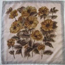 -Superbe Foulard  PIERRE BALMAIN  100% soie  TBEG  vintage scarf  76 x 77 cm