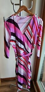 Leona Edminston Dress Euc Size 16