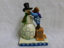 Jim Shore Boyds Klondike with Crystal Building Friendships 4041910 Snowman