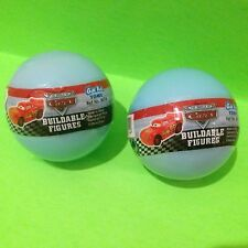 2 CARS PLASTIC SURPRISE EGG BALL WITH Buildable Toy..!!!!! Wow!