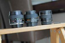 Minolta MD  mount 50mm F1.4, Minolta MD 28mm F2.8 and Teleconverter