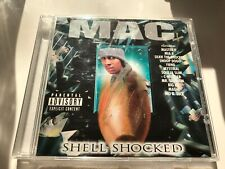CD: MAC - Shell Shocked (1998 No Limit Records) Rare OG Press NOLA Rap G-Funk