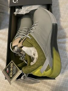 New ECCO Golf Shoes S-Three Gore Tex , Gray Size EU42 US8-8.5. New With Tags.
