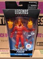 "Marvel Legends Human Torch Fantastic Four 6"" Action Figure Walgreens Exclusive"