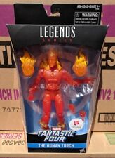 "Marvel Legends Human Torch Fantastic Four 6"" Action Figure Walgreens Exclusive"