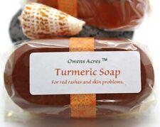 Turmeric Soap - Turmeric Goats Milk Soap for Skin Conditions, Breakouts