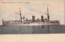 Postcard Ship Nave da Battaglia di 5a Classe Liguria