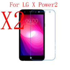 2xReal Tempered Glass Screen Protector For LG X Power2/X Charge/Fiesta/K10 Power