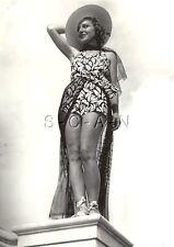 Original Vintage Large Semi Nude Pinup RP- Swimsuit- Sunshine Fashion Review- 37
