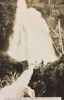 Postcard, Upper Rainbow Falls Harrison Hot Springs B.C. Canada, Vintage P24