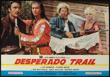 DESPERADO TRAIL Winneton III LEX BARKER, P. BRICE, KARL MAY, WESTERN FOTOBUSTA 7