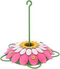 Ne 00004000 w listing Hummingbird Feeder, 3D Pink Flower, 16-oz.
