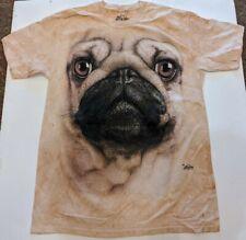 New ListingThe Mountain Pug Dog Face T-Shirt New Size Large