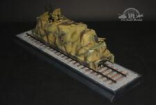 German Kanonen und Flakwagen Train WWII 1:35 Pro Built Model
