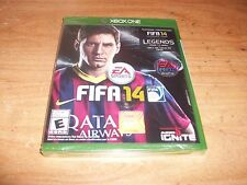 FIFA 14 (Microsoft Xbox One Soccer Game, 2013) Lionel Messi Barcelona NEW