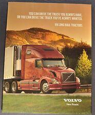 2000-2001 Volvo VN 780 670 630 Truck Catalog Sales Brochure Excellent Original