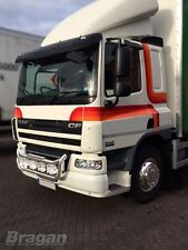 To Fit DAF CF 65 75 85 Standard Cab Acrylic Smoked Sun Visor Replacement