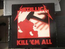 Metallica – Kill 'Em All LP 1986 UK (France) Music For Nations – MFN 7 EX