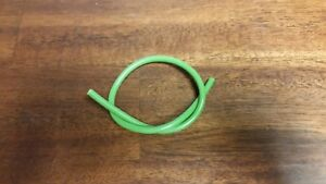 October Mountain Products Premium Silicone Peep Sight Tubing.1 ft. length. Green