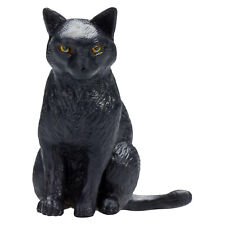 MOJO Black Cat Sitting Animal Figure 387372 NEW IN STOCK Toys Collectibles