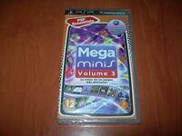 MEGA MINIS VOLUME 3 PSP ESSENTIALS (PAL ESPAÑA PRECINTADO)