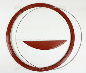 10 UNITS Jet Gasket Brand Door Seal Gasket with Ring & Dam for Midmark M9