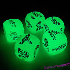 1PC Funny Luminous Adult Dice Sex Games Love Humour Gambling Romance Bar Toy