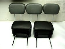 (5) Used  Ford Misc Front & Rear Leather Headrests Head rest  Dated 2012