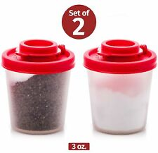 Salt and Pepper Pots – Salt and Pepper Shakers in a Range of Sizes – Non-Toxi...