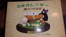 Kiki's Delivery Service Cat Jiji Perpetual Calendar Resin Ghibli 2001