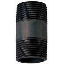 "1/2"" BSPT BLACK IRON BARREL NIPPLE"