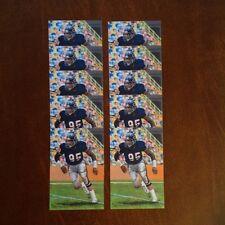 Richard Dent Chicago Bears Lot of 10 unsigned Goal Line Art Cards