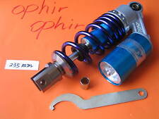 "9.25"" 235mm Mono Shock for some Honda Yamaha Kawasaki Suzuki Scooter Bike Blue"