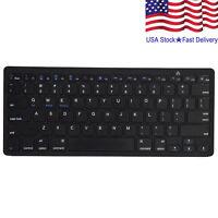 Wireless Bluetooth Keyboard Slim For Android Windows iOS Tablet PC Desktop Mac
