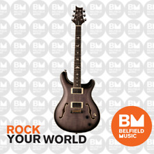 PRS Paul Reed Smith SE Hollowbody II Electric Guitar Charcoal Burst - Brand New