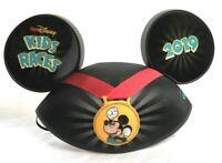 Run Disney Parks 2019 Kids Races Marathon Mickey Mouse Ears YOUTH Hat Cap  New