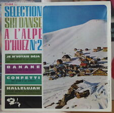SELECTION SKI DANSE A L'ALPE D'HUEZ N°2 EASY LISTENING FRENCH EP DISQUES BARCLAY