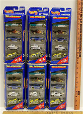30 Hot Wheels 1998 Vintage 1950's Cruisers Muscle Chevy Ford Diecast Cars NIB