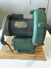 EG&G Rotron Vortex blower DR454R72 1.5 HP 3PH 3450 RPM Regenerative 230/460