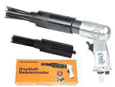 CHM GmbH Druckluft Nadelentroster 4000U/min Nadelpistole Entroster m. Ersatzkopf