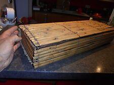 Longue Boite en Bambou fendu Idéal Déco Zen , pour Présenter Cactus ou Plantes