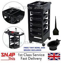 Salon Hairdresser Barber Beauty Storage Trolley Hair Drawers Roller Cart Spa NEW