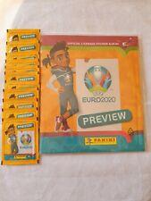 Panini Euro 2020 Preview 528 stickers BELGIUM version empty album + 10 packets