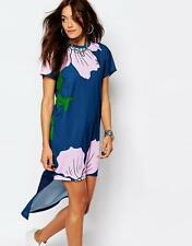 nwt~Adidas Originals FLORAL ENGRAVING LONG DRESS Top Shirt supergirl~Womens sz M