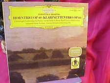 DGG 139398 Brahms Horntrio Op.40 & Klarinettetrio Op.114  Ex-NM