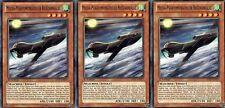 Yu-Gi-Oh! 3x Mecha-Phantomungeheuer Reißzahnfalke Common SHSP-DE027  1.Auflage