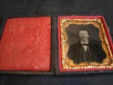 Antique Deguerreotype 9th Plate Folding Case